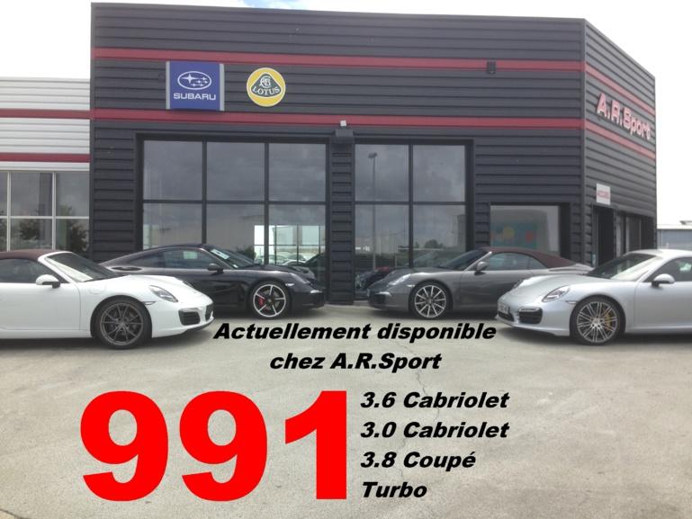 991 en stock chez A.R.Sport!