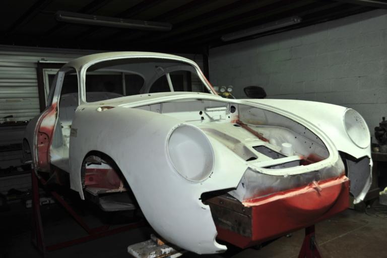 Porsche 356 en cours de restauration